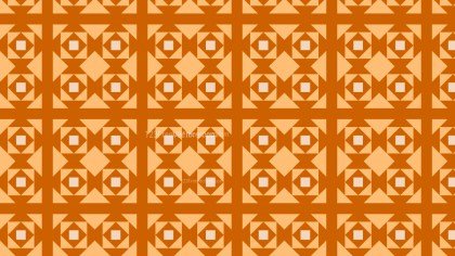 Orange Geometric Square Pattern Background Vector Graphic