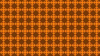 Dark Orange Geometric Square Pattern