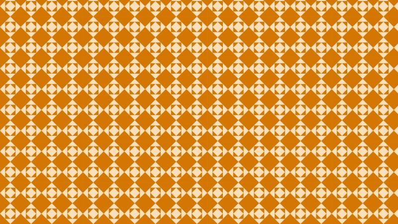 Orange Geometric Square Background Pattern