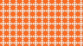 Orange Seamless Geometric Square Pattern