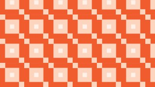 Orange Seamless Geometric Square Pattern Background