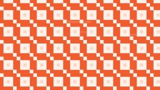 Orange Square Pattern Vector Graphic