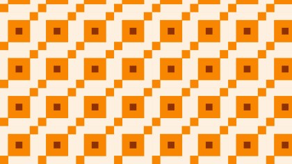 Orange Square Background Pattern Illustrator