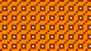 Orange Geometric Square Pattern Vector Illustration