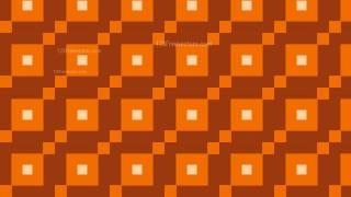 Dark Orange Geometric Square Pattern Background Vector