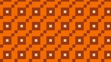 Orange Geometric Square Background Pattern Vector Art