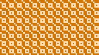 Orange Seamless Square Background Pattern Design