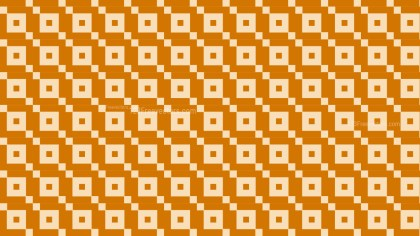 Orange Seamless Square Background Pattern Design