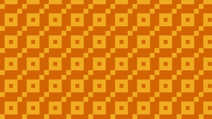 Orange Seamless Geometric Square Pattern Image