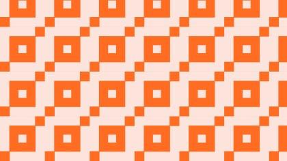 Orange Square Pattern Background