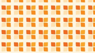 Light Orange Geometric Square Pattern
