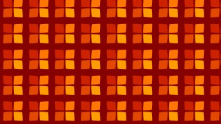 Dark Orange Geometric Square Background Pattern