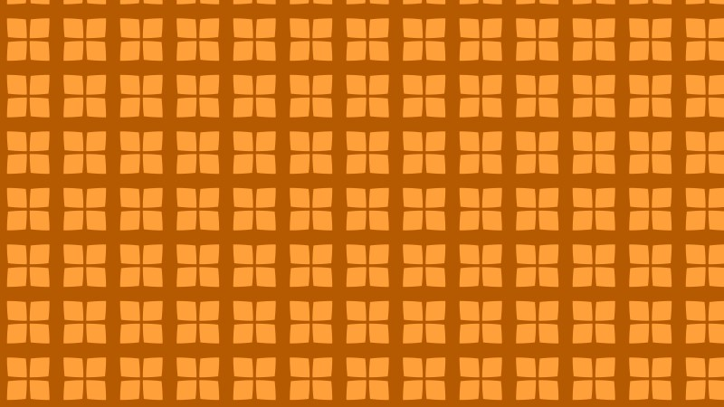 Orange Seamless Geometric Square Background Pattern