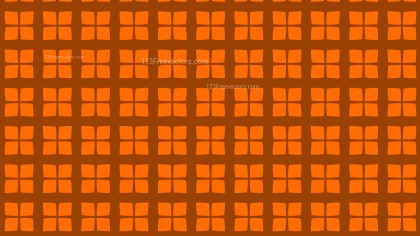 Orange Square Pattern Vector