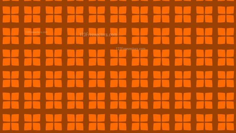 Orange Square Pattern Vector