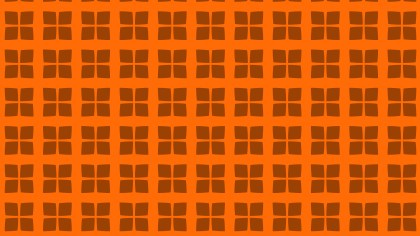Orange Square Pattern Background Vector Art