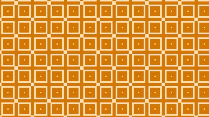 Orange Geometric Square Pattern Illustration