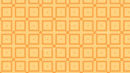 Light Orange Geometric Square Pattern Background Design