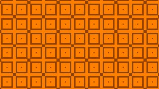 Orange Seamless Square Pattern Vector Graphic