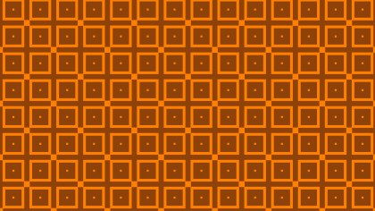 Dark Orange Seamless Square Pattern Background Vector Image