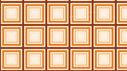 Orange Seamless Concentric Squares Pattern Image