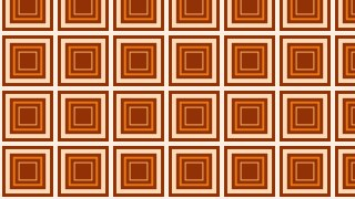 Orange Seamless Concentric Squares Pattern Background Vector Graphic