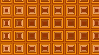 Orange Seamless Concentric Squares Background Pattern Vector Image