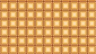 Orange Concentric Squares Pattern