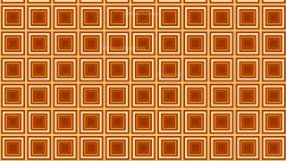 Orange Concentric Squares Pattern Background