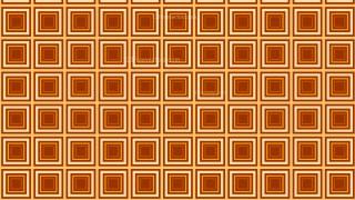 Orange Concentric Squares Pattern Background