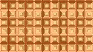Orange Seamless Concentric Squares Pattern