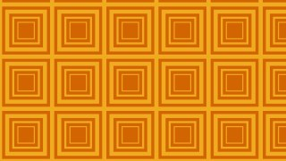 Orange Concentric Squares Pattern Design