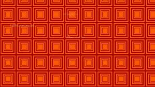 Dark Orange Seamless Concentric Squares Pattern Vector Image