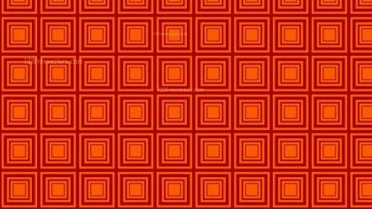 Dark Orange Seamless Concentric Squares Pattern Vector Image