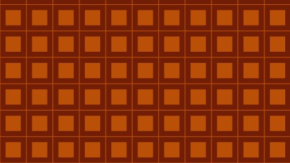 Dark Orange Seamless Square Background Pattern Illustrator