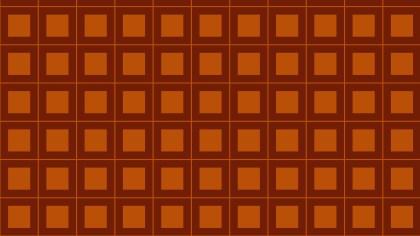 Dark Orange Seamless Square Background Pattern Illustrator
