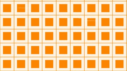 Orange Seamless Geometric Square Background Pattern Vector Art
