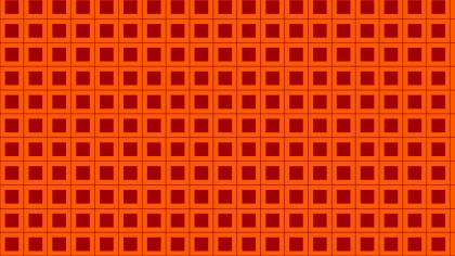 Dark Orange Square Pattern