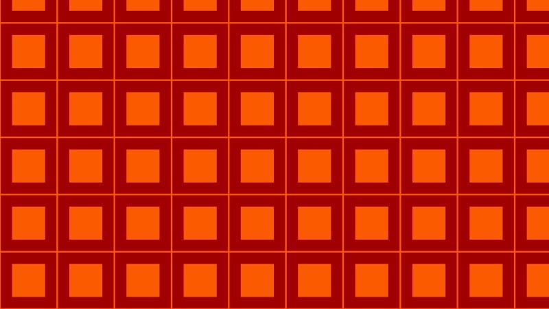 Dark Orange Square Pattern Background
