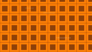 Orange Square Background Pattern