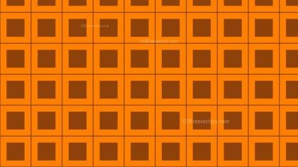 Orange Square Background Pattern