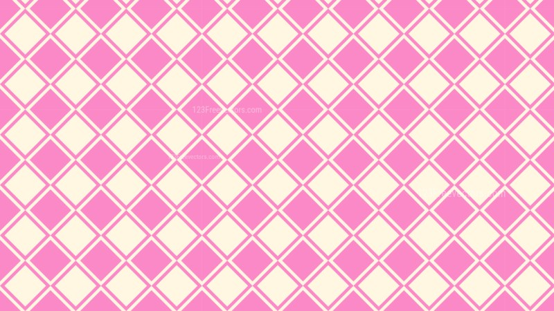 Pink Square Pattern Design