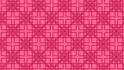 Magenta Geometric Square Pattern Vector Image