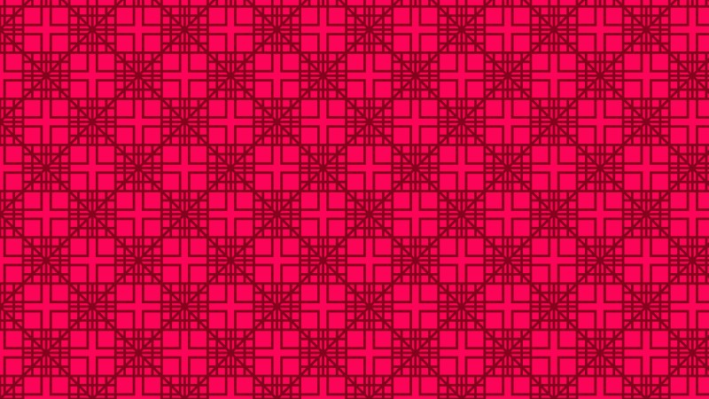 Folly Pink Seamless Square Pattern Vector