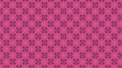 Pink Seamless Square Pattern Background Vector Art