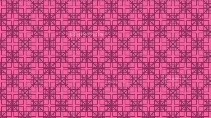 Pink Seamless Square Background Pattern Graphic