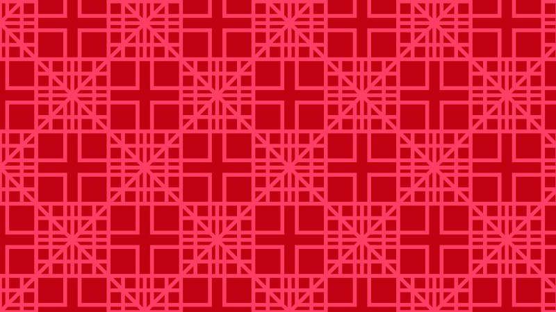 Folly Pink Seamless Geometric Square Pattern Illustration