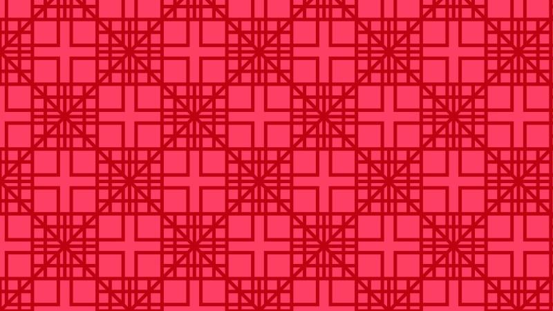 Folly Pink Seamless Geometric Square Pattern Background Design