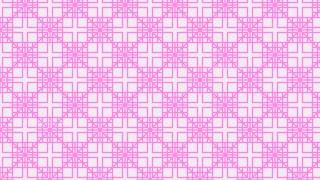 Rose Pink Square Pattern