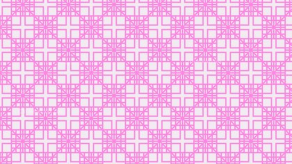 Rose Pink Square Pattern